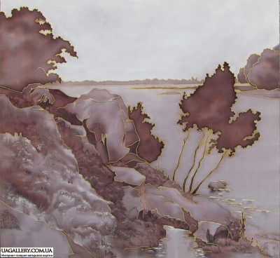 Картина «Течёт вода в синее море»