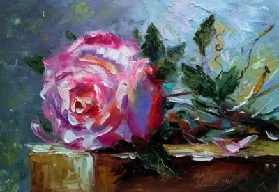 Картина «Роза для любимой»