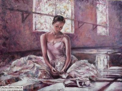 Картина «Балерина» купить живопись Украина