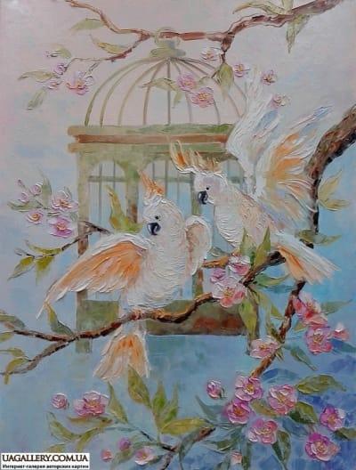 Картина «Весенний трепет крылье»