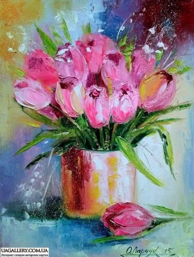 Картина «Тюльпаны»