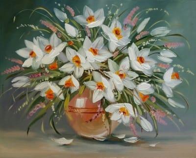 Картина «Нарциссы - цветы поэтов и весны»