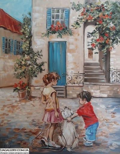 Картина «Лучшие друзья»