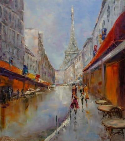 Картина «Paris.N'Oubliez Jamais»