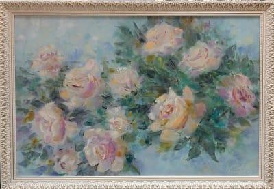 Картина «Прекрасной розы аромат тебя разбудит поутру»