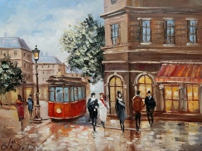 Картина «Вечерний Париж»