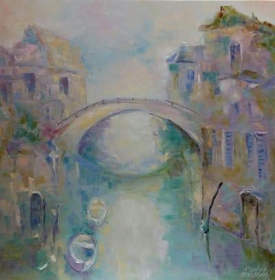 Картина «Город романтиков и поэтов»