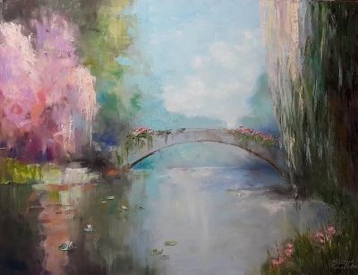 Картина «Созерцая тишину»