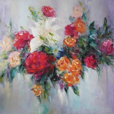 Картина «Вальс цветов»