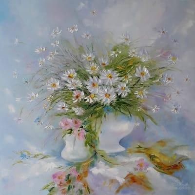 Картина «Ромашка, ромашка... белый лепесток»