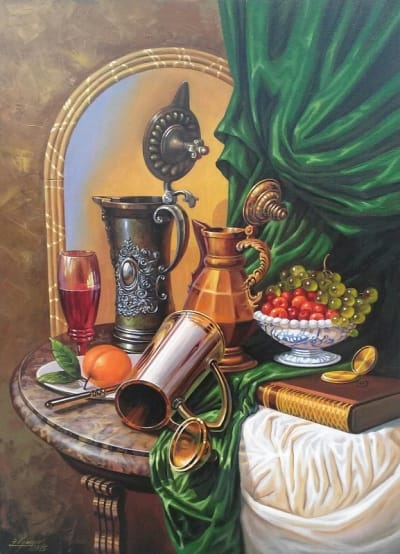 Картина «Натюрморт с кувшинами»