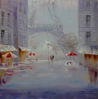 Картина «С любовью о Париже»
