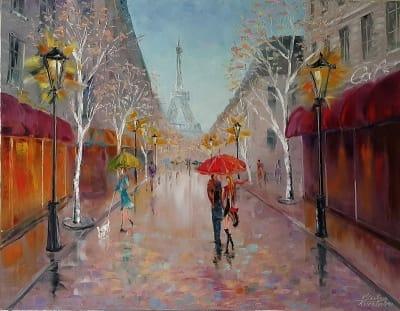 Картина «Париж, Париж! Ты снова манишь...»