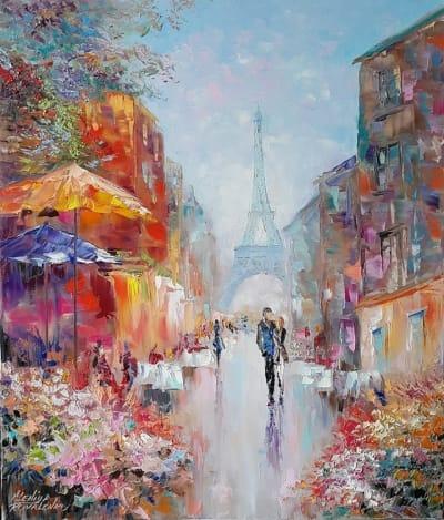 Картина «Уик-енд в Париже»