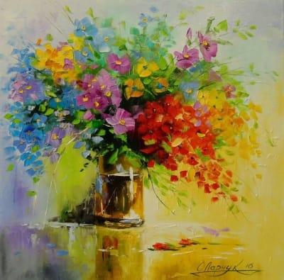Картина «Полевые цветы»
