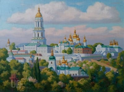 Картина «Киево-Печерская лавра. Май»
