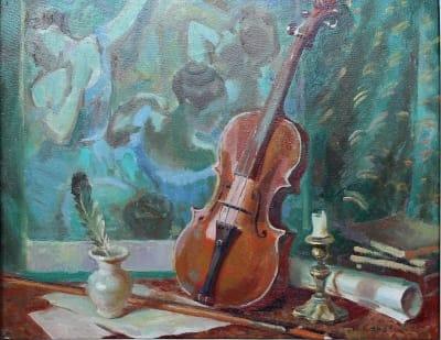 Картина «Театральный натюрморт»