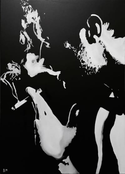 Картина «Мужчина с сигарой»