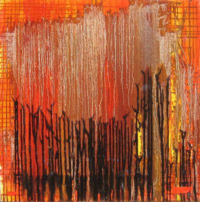 Абстрактная картина «Осень»