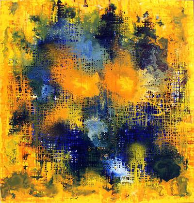 Картина «Параллельная реальность: Желтый»
