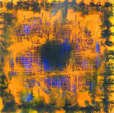 Картина «Параллельная реальность: Оранжевый»