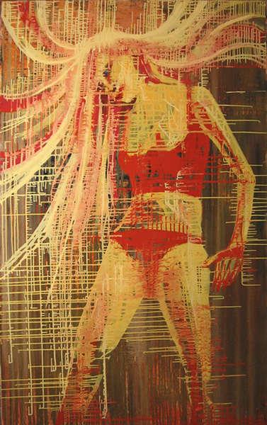 Картина «Блондинка»