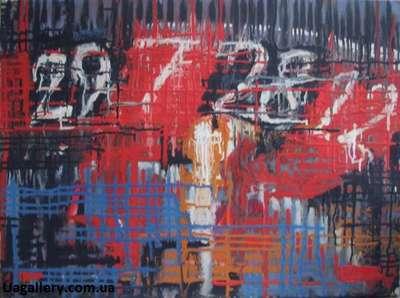 Абстрактная картина «Казино»