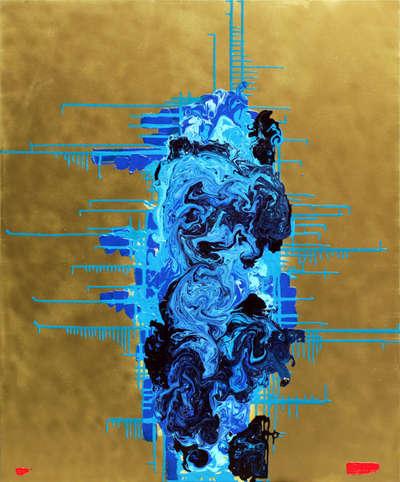 Картина «RGB - синий»