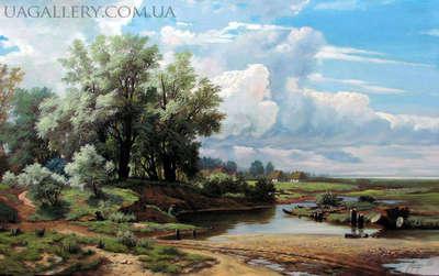 Картина «Деревня»
