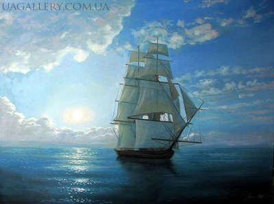 Картина «Море. Штиль»