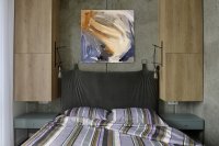 Картина абстракция «Настроение» (первая из сета) купить живопись для современных интерьеров Украина Киев