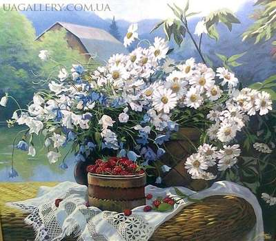 Картина «Летний натюрморт»