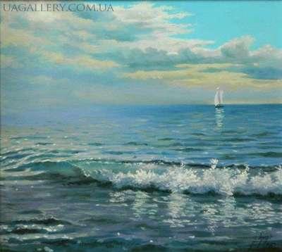 Картина морской пейзаж Море