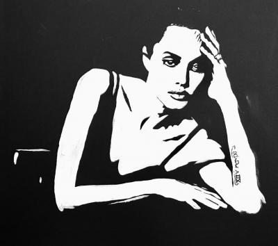 Картина «Портрет Анджелины Джоли»