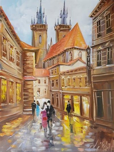 Картина «Чарующие виды Праги»