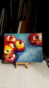 Картина «Урожай яблок»