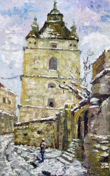 Картина «Армянская зимой»
