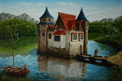 Картина «Пограничный замок»