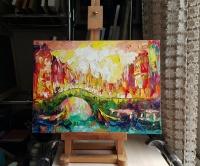 Картина «Мосты Амстердама»