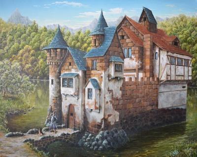 Картина «Замок, славный замок»