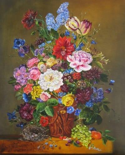 Картина «Цветы. Голландский натюрморт»