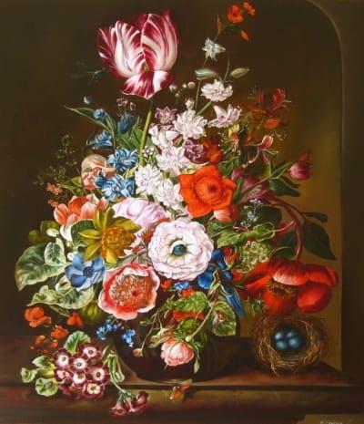 Картина «Голландский натюрморт с тюльпаном»