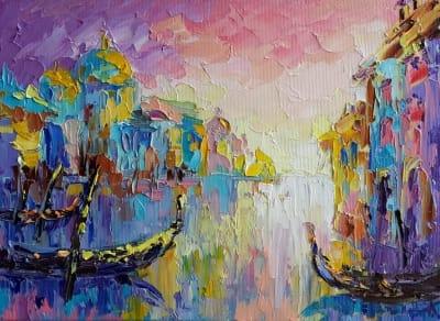 Картина «Вечерняя Венеция»