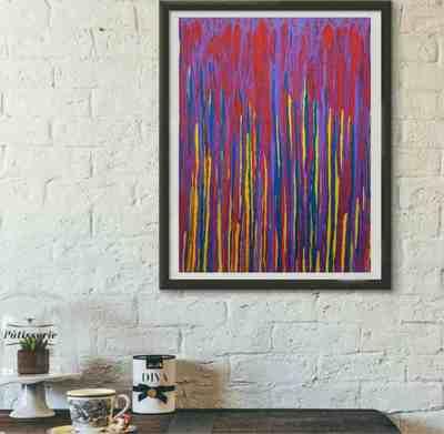 Картина «Эмоции. Лиловое настроение»