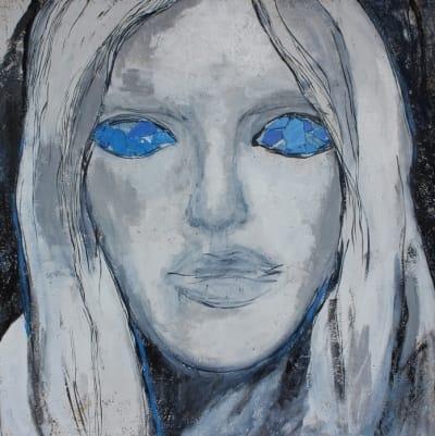 Картина для современных интерьеров серия «Glassed Madonna 4» купить живопись Киев