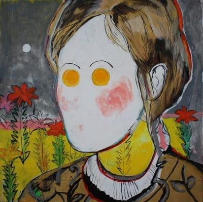 Картина для современных интерьеров абстракция «Golden age» купить живопись Киев