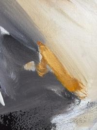 Картина абстракция «Настроение» (вторая из сета) купить живопись для современных интерьеров Украина Киев