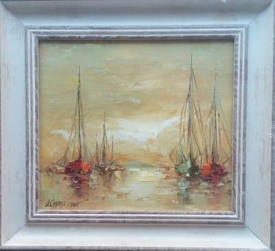 Картина «Яхты» 2