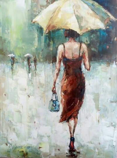 Картина «Дождь» 3