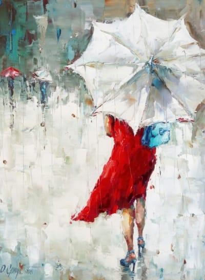 Картина «Летний дождь» 2
